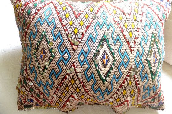 Moroccan Vintage Berber Pillow Cushion Cover Large