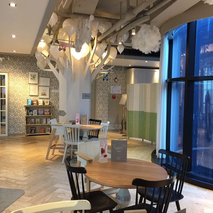 A section of the cafe at Petit 5, Seoul