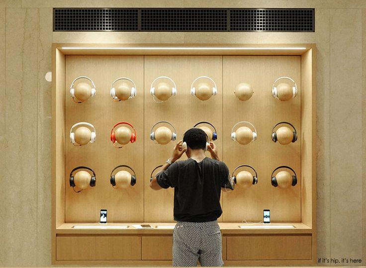 headphones at apple store
