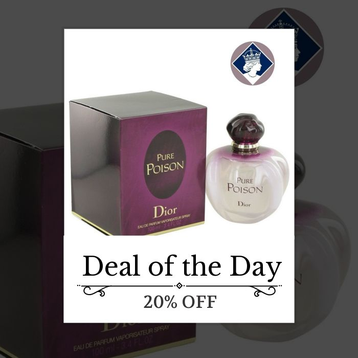 Today Only! 20% OFF this item.  Follow us on Pinterest to be the first to see our exciting Daily Deals. Today's Product: Christian Dior Pure Poison 100ml/3.4oz Eau De Parfum Spray EDP Perfume for Women Buy now: https://small.bz/AAcFcoo #fashion #perfume #smellgood #picoftheday #instacool #onlineshopping #instashop #loveit #instafollow #shop #shopping #love #OTstores #smallbiz #instagood #musthave #photooftheday #sale #dailydeal #dealoftheday #todayonly #instadaily