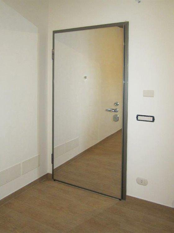 13 best porte blindate images on pinterest apartments - Porte con specchio ...