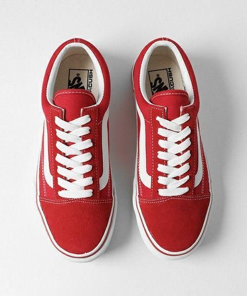 Vans Red Canvas Skate Shoes from Simpleclothesv. Shop more products from  Simpleclothesv on Wanelo. 8b6374f6dab7