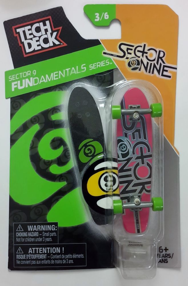 Tech Deck Sector Nine 3/6 FUNdamentals Series 96mm Fingerboard  | eBay