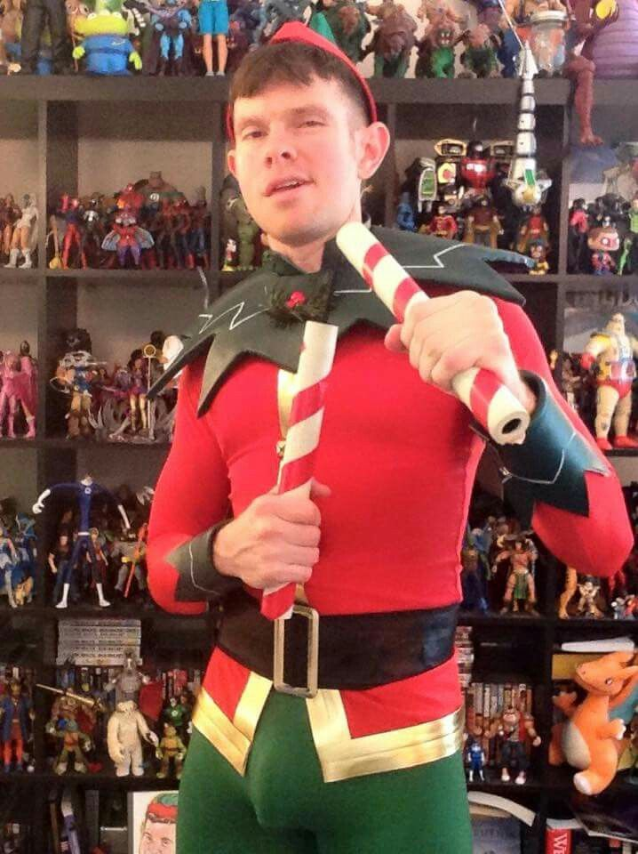 The Gay Comic Geek as the Gay Christmas Elf. ;) | Holiday ...