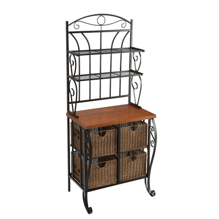 Lillianna Steel Baker S Rack With Images Bakers Rack