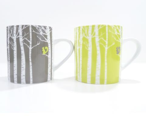 In The Woods Squirrel Mug