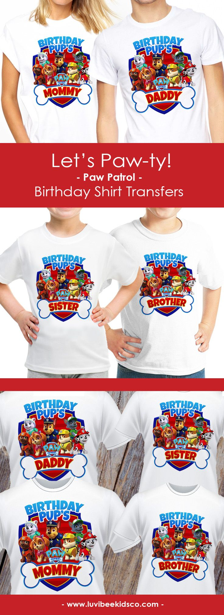 Design your own t-shirt bristol - Paw Patrol Iron On Transfers This Item Is For Do It Yourself Diy T Shirt Crafts Our Designs Are Printed Onto Avery Heat Transfers For White Or Light