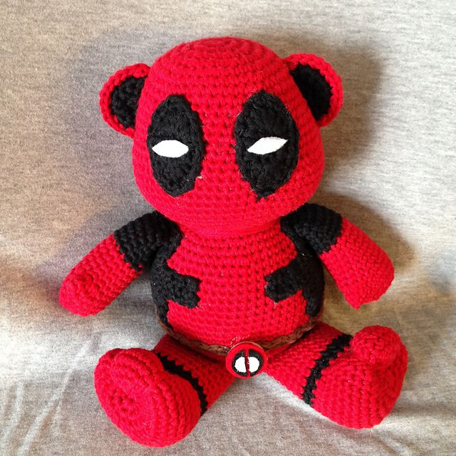 Ravelry: Trooperschafs Deadpool Crochet I Like - TV, Movie or Video Ga...