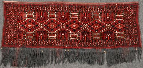 Saryk torba with silk, $1 250.00
