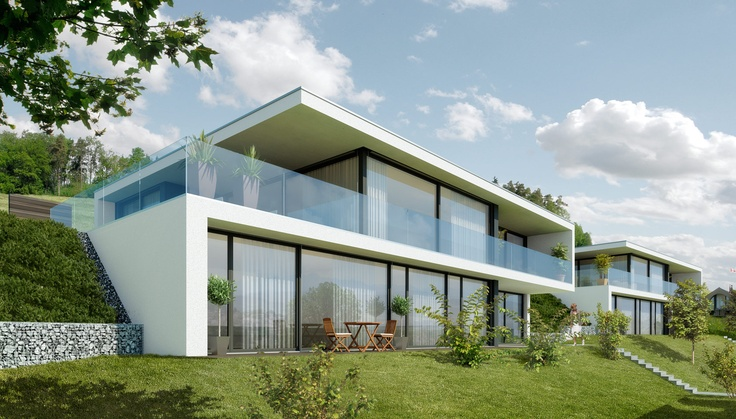 Turmwiese – casas modernas em Wil SG   – Mehrfamilienhäuser