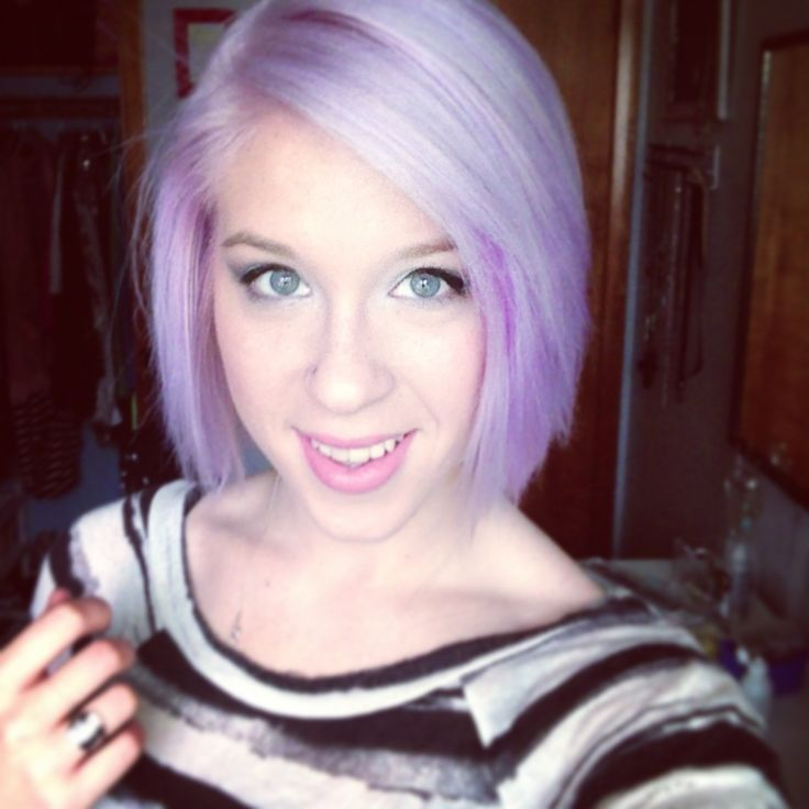 Short Pastel Purple Hair Www Pixshark Com Images