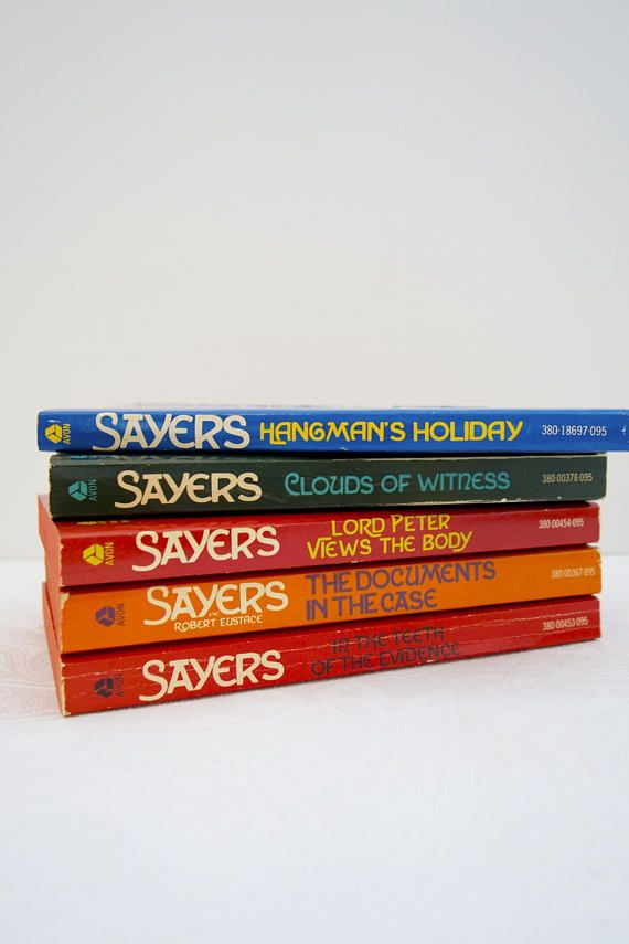 Dorothy L. Sayers mystery books