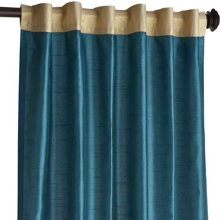 Hamilton Gilded Teal Curtain Confession Sometimes I Am Tempted To Go Nuts Teal Curtains Curtains Bedroom Living Room Decor Curtains