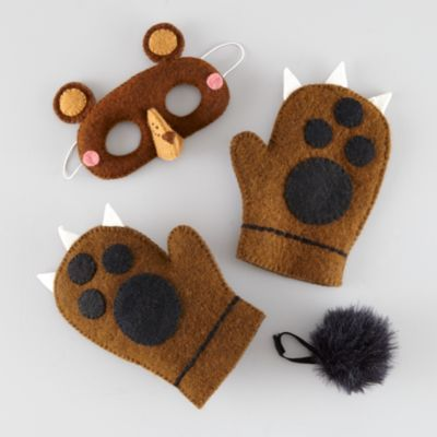 Wear the Wild Things Dress-Up Set (Bear) :: Land of Nod :: costume, felt