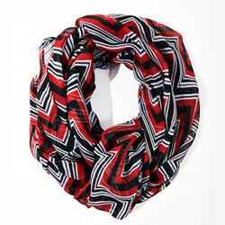 Chevron Infinity Scarf (perfect for UGA games) from Charming Charlie #CCSummerStyle