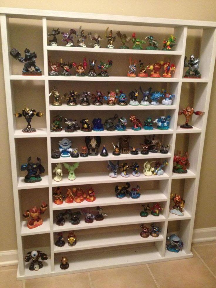 skylanders display shelf | darkSpyro - Spyro and Skylanders Forum - Skylanders Toys and ...