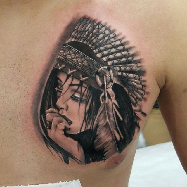 1000 ideas about indian girl tattoos on pinterest for Indian woman tattoo