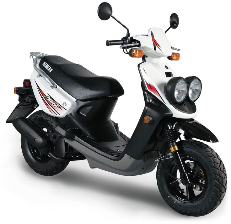Wanted: 2010 White Yamaha Zuma scooter / moped - 50cc 2 stroke great for on and off road