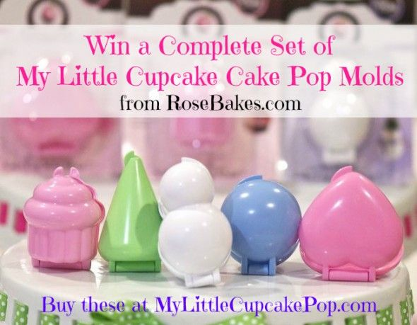 Enter to win My Little Cupcake Cake Pop Molds Giveaway!!