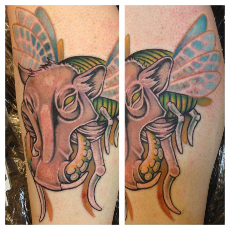 By Samantha At Black And Blue Tattoo San Francisco