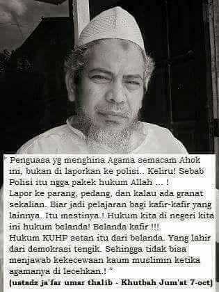 INI JAWABAN YANG BENAR UTK PENISTA AGAMA TERBESAR DI INDONESIA KURUN INI !!!!  HUKUM KEDAULATAN RAKYAT INDONESIA BANGKIT MELAWAN MASA   BISMILLAHIR- ROHMANIR- ROHIM