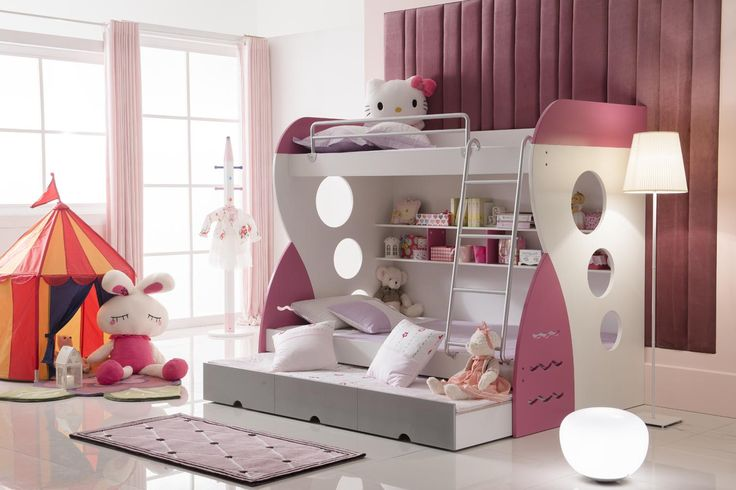 Combo Bunk WITH 3rd Pull out BED  OMG!!!