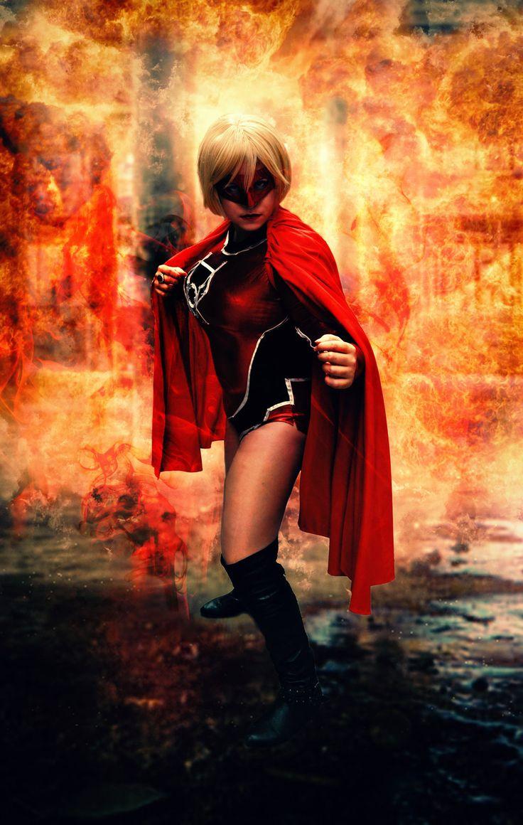 Fight / Supergirl - Red Lantern Corp by Kibamarta.deviantart.com on @DeviantArt