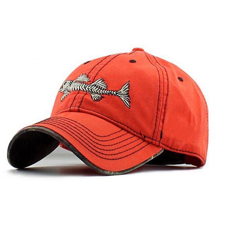 2016 New Outdoor casual brand baseball cap men genuine sports Fishbone logo snapback caps cotton sun fashion running hats mens
