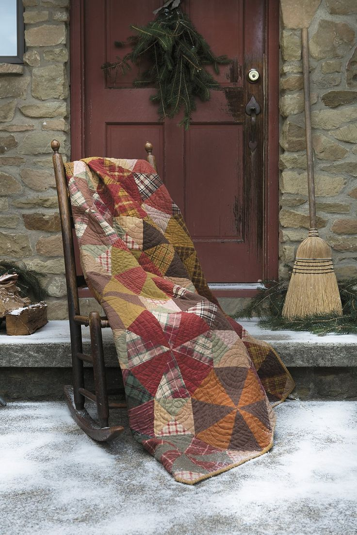261 best images about Country Primitive Quilts on Pinterest