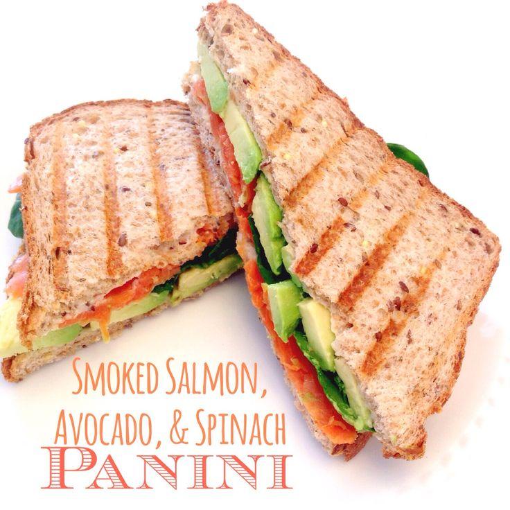 avocado ham swiss avocado and spinach panini recipes dishmaps chicken ...
