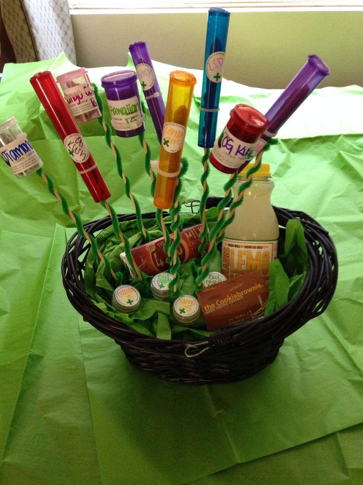 Weed Gift Basket
