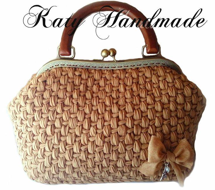 borsa, bag, purse, frame, uncinetto, crochet, katy handmade creazioni