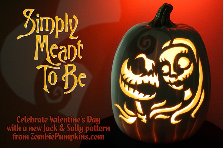 http://www.zombiepumpkins.com/simply-meant-to-be-pumpkin-pattern/395/