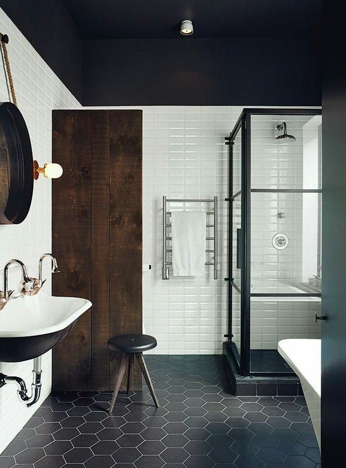 8 best Salles de bain images on Pinterest Subway tiles, Joseph and - refaire un plafond de salle de bain
