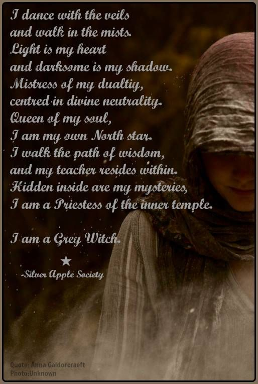 Gray Grey Witch Witchcraft Magick ☆ Witchykins Too