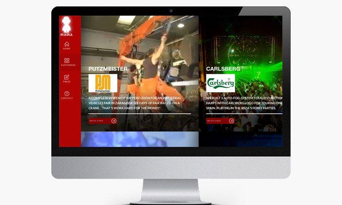 http://www.basicum.es/portfolio-item/diseno-web-musicos-bulbul/ Sección de videos para la web de BulBul creado por Basicum.es