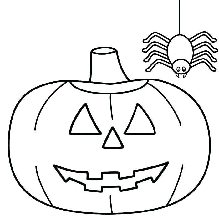 Dessin Halloween Facile Des Creatures A Portee De Mine Pumpkin