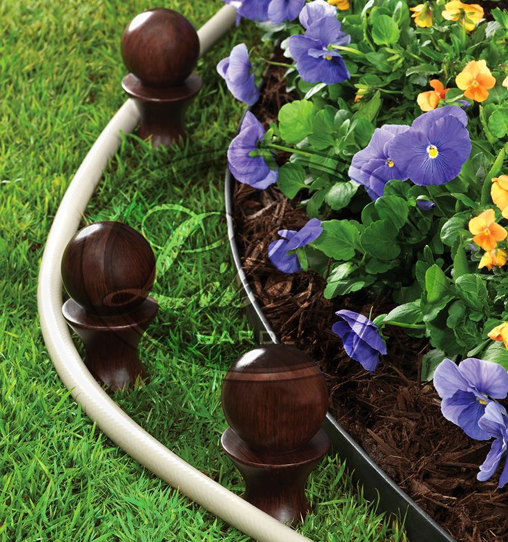 Protect Your Garden And Landscape With A Liberty Model 616 Round Top Hose  Guide! The Hose Guideu0027s Polyresin Rollers Guide Your Garden Hose While  Protecting ...