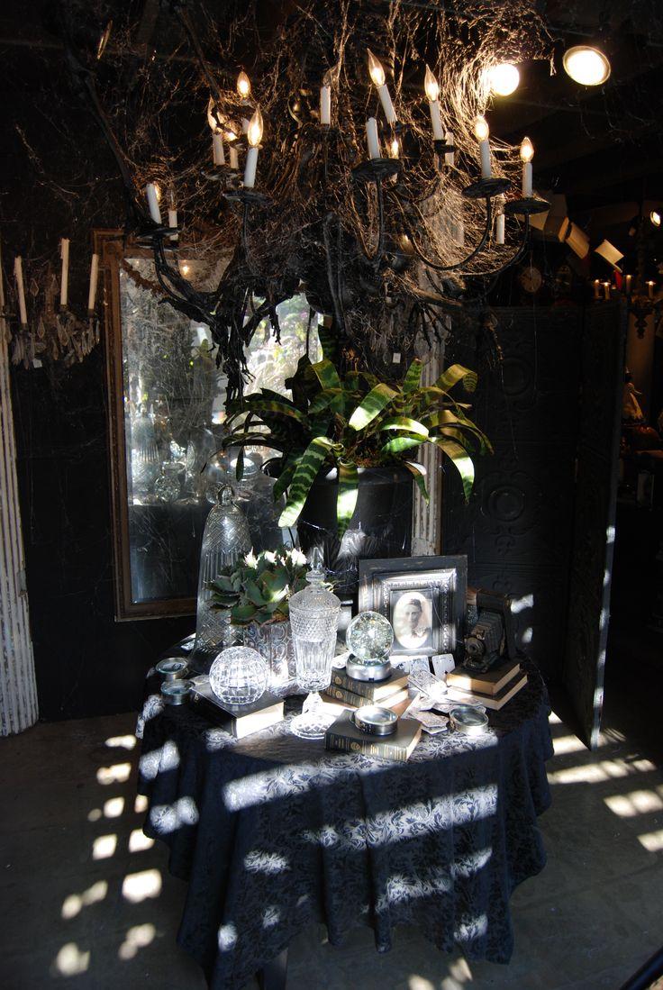 Halloween at Roger's Gardens Halloween displays