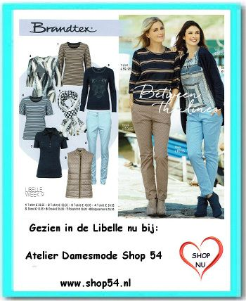 Brandtex collectie between the lines nu verkrijgbaar bij Atelier Damesmode Shop 54 Scheldestraat 54 Vlissingen