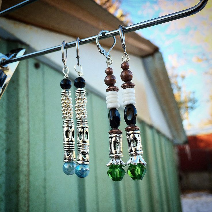 Homie aaronanderin uploaded these sonic screwdriver earrings to our Flickr pool. Apparently they were made for a Doctor Who swap. How clever are these!?
