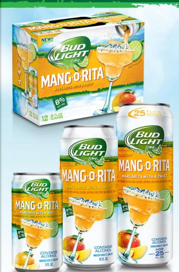 Bud Light MANGO-Rita coming !!!