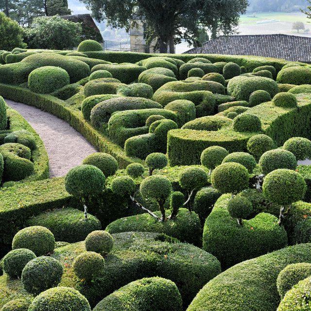 Les 413 meilleures images du tableau art topiaire for Marqueyssac topiary gardens philippe jarrigeon