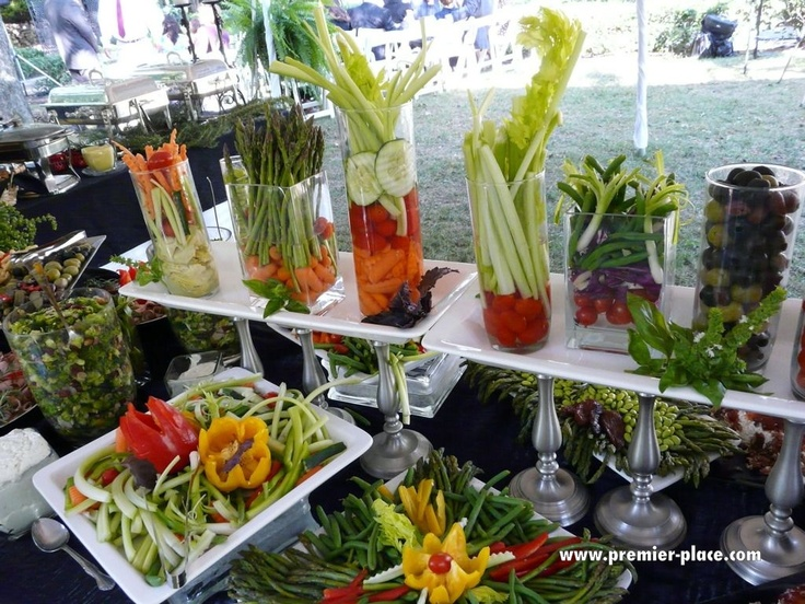 Receptions Food Displays And Prime Time On Pinterest: Beautiful Food Displays At Outdoor Wedding By Premier