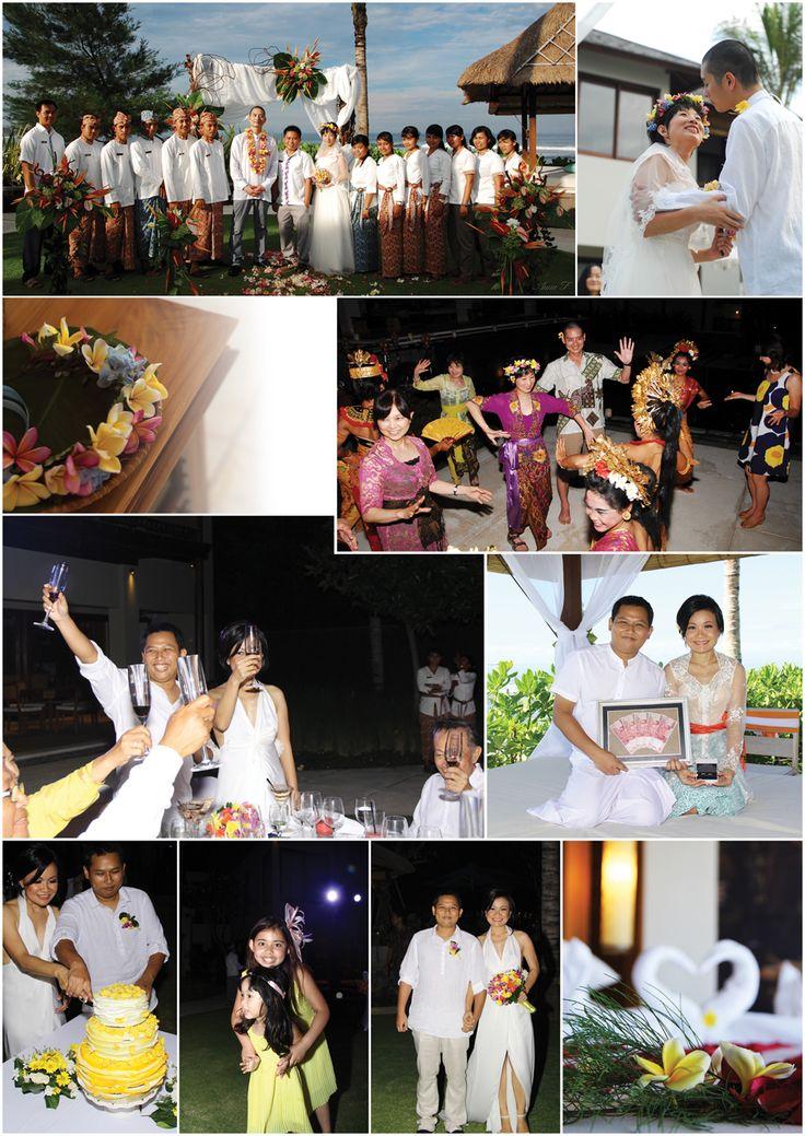 The weddings at Anapuri Villas