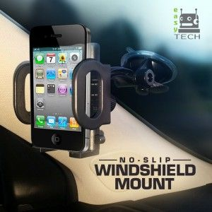 Easy-Tech 2-in-1 Mobile Phone Car Mount  Top 10 Best Car Phone Mounts in 2015 Reviews - buythebest10