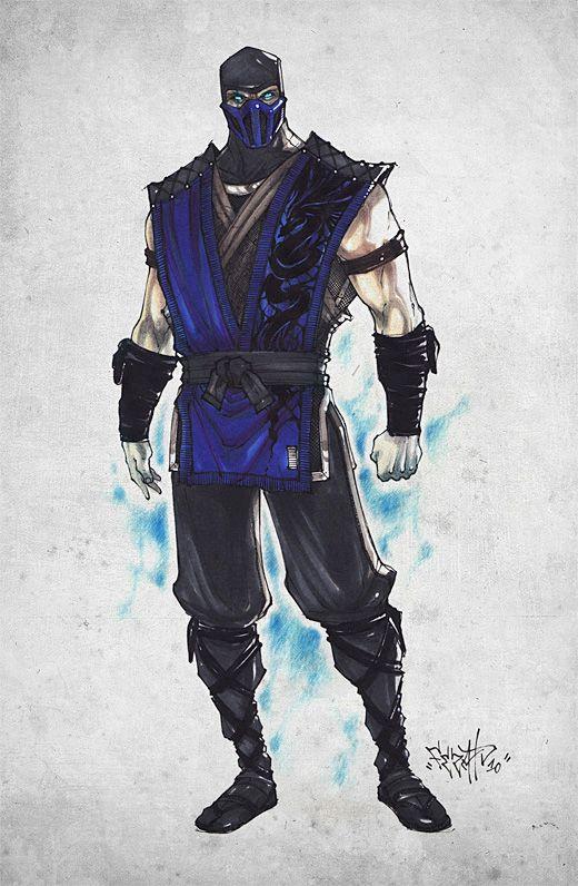 Mortal Kombat - Sub-Zero by ~Fezat1 on deviantART