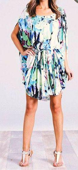 Aruba Print Dress