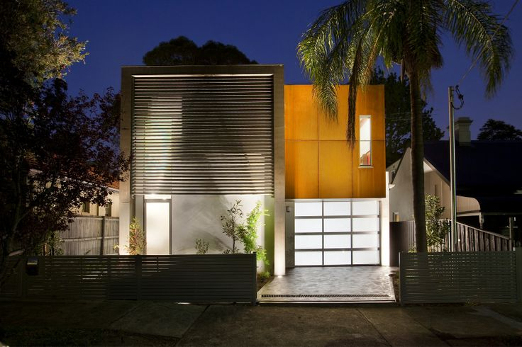 A modern family home designed at Lilyfield, in Sydney's Inner West.