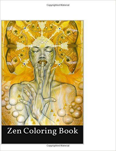 Zen Coloring Book Mindfulness And Meditation Adult With Mandala Patterns 2016